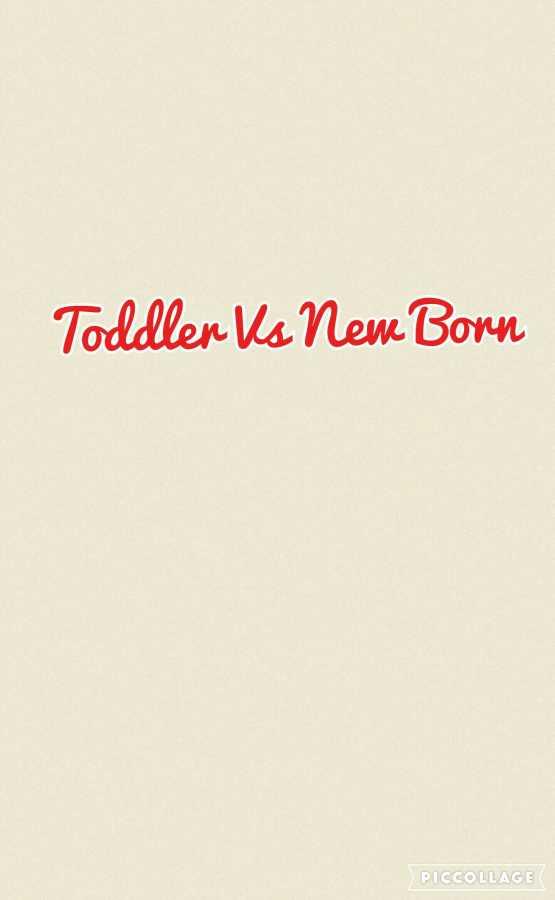 Why I prefer having a toddler to a newborn