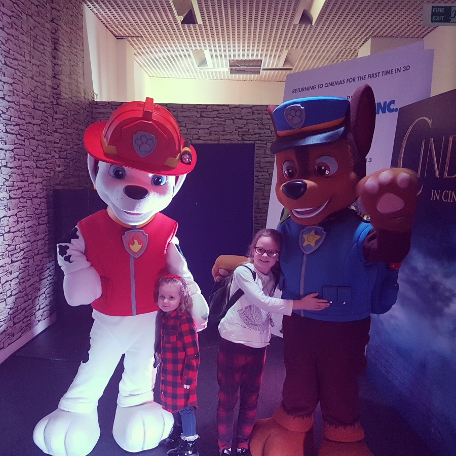 Meet and greet with Paw Patrol